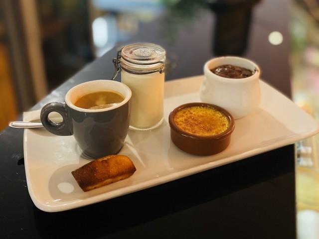 Brasserie Les Terrasses Café gourmand