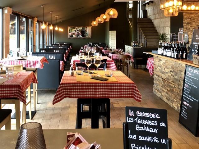 Brasserie Les Terrasses Salle de restaurant